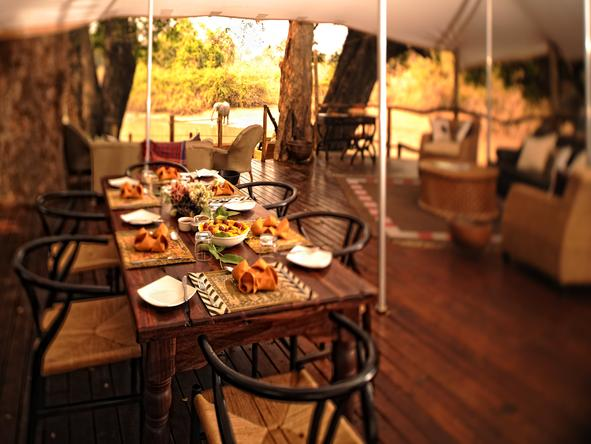 Kanga Bush Camp - Dining